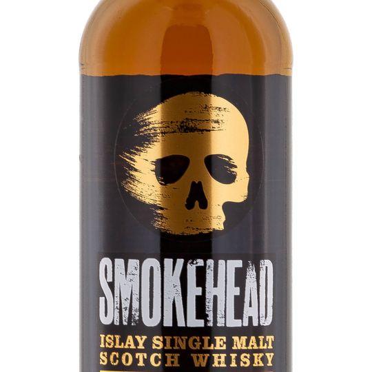 Personalised Smokehead 70cl Engraved Single Malt Whisky engraved bottle