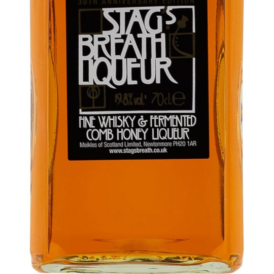 Personalised Stags Breath Liqueur 70cl Engraved Whisky Liqueurs engraved bottle