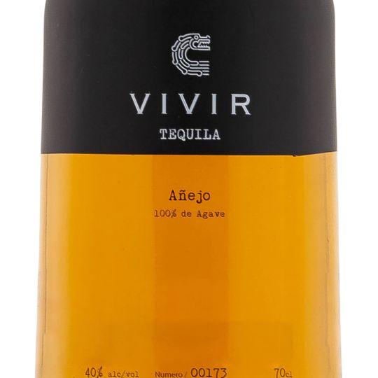 Personalised Vivir Tequila Anejo 70cl Engraved Reposado Tequila engraved bottle