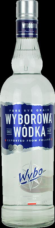 Personalised Wyborowa Vodka 70cl engraved bottle