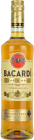 Personalised Bacardi Oro 70cl engraved bottle