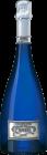 Personalised Cattier Brut Saphir engraved bottle