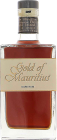 Personalised Gold of Mauritius Dark Rum  engraved bottle