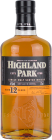 Personalised Highland Park 12 Year Old 70cl engraved bottle