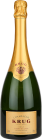 Personalised Krug Grand Cuvee 75cl engraved bottle