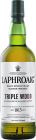 Personalised Laphroaig Triple Wood 70cl engraved bottle