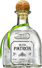 Personalised Patron Silver 70cl engraved bottle
