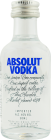 Personalised Miniature Absolut Blue 5cl engraved bottle
