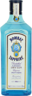 Personalised Bombay Sapphire Gin 70cl engraved bottle