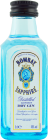 Personalised Miniature Bombay Sapphire Gin 5cl engraved bottle