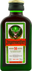 Personalised Miniature Jagermeister Herbal Liqueur 4cl engraved bottle