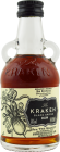 Personalised Miniature Kraken Dark Spiced Rum 5cl engraved bottle