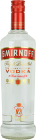 Personalised Smirnoff Red 70cl engraved bottle