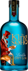 Personalised The King of Soho London Dry Gin engraved bottle