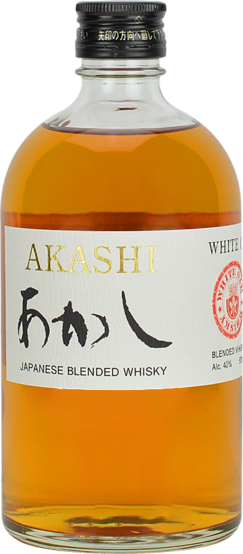 Personalised White Oak Akashi Blended Whisky 70cl engraved bottle