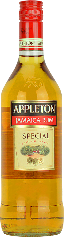 Personalised Appleton Estate Special Gold Rum 70cl engraved bottle