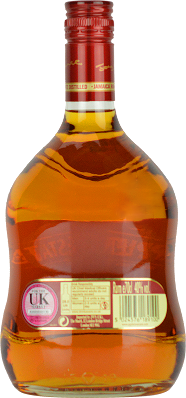 Personalised Appleton Estate Signature Blend Rum 70cl engraved bottle