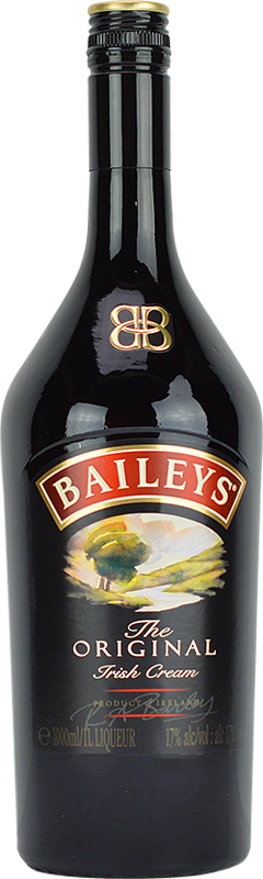 Personalised Baileys Irish Cream Liqueur 1 Litre engraved bottle