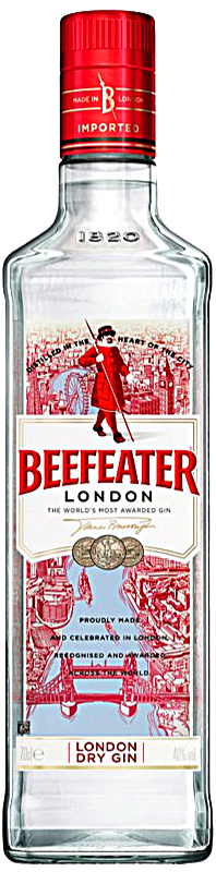 Personalised Beefeater Gin 70cl engraved bottle