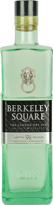 Personalised Berkeley Square Gin 70cl engraved bottle