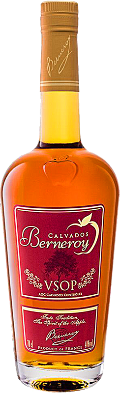 Personalised Berneroy VSOP Brandy 70cl engraved bottle