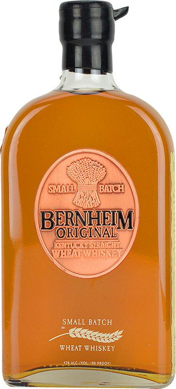 Personalised Bernheim Original Straight Wheat Whiskey 70cl engraved bottle