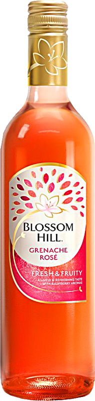 Personalised Blossom Hill Grenache Rose Wine 75cl engraved bottle