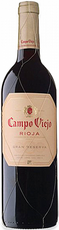 Personalised Campo Viejo Rioja Gran Reserva 75cl engraved bottle