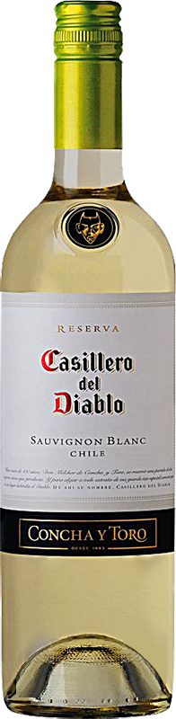 Personalised Casillero Del Diablo Sauvignon Blanc Wine 75cl engraved bottle