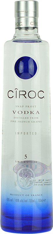 Personalised Ciroc Jeroboam Vodka 300cl engraved bottle