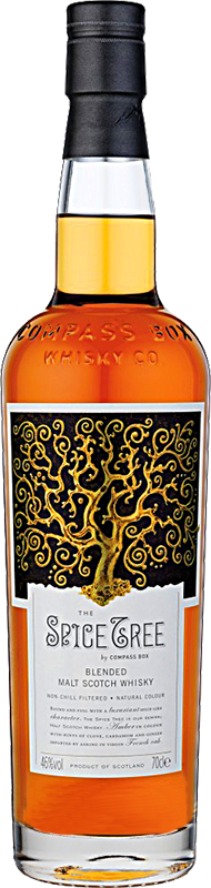 Personalised Compass Box The Spice Tree Whisky 70cl engraved bottle
