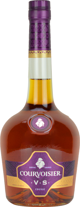 Personalised Courvoisier VS Cognac 70cl engraved bottle