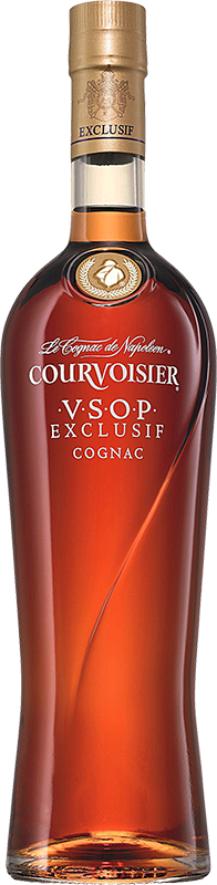 Personalised Courvoisier VSOP Exclusif Cognac 70cl engraved bottle