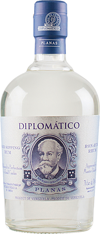 Personalised Diplomatico Planas Rum 70cl engraved bottle