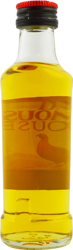 Personalised Miniature Famous Grouse Whisky 5cl engraved bottle