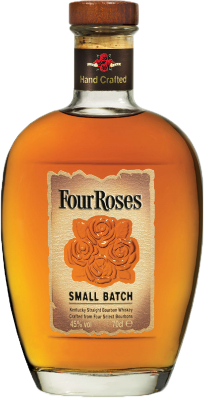 Personalised Four Roses Small Batch Bourbon Whiskey 70cl engraved bottle