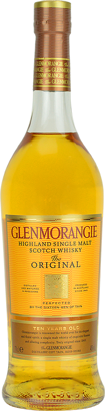 Personalised Glenmorangie 10 Year Old Original Whisky 70cl engraved bottle