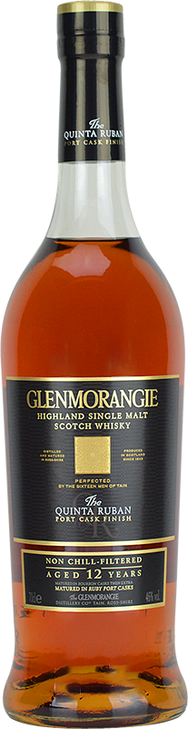 Personalised Glenmorangie Quinta Ruban Whisky 70cl engraved bottle
