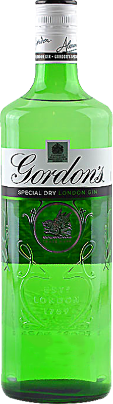 Personalised Gordons London Dry Gin 70cl engraved bottle