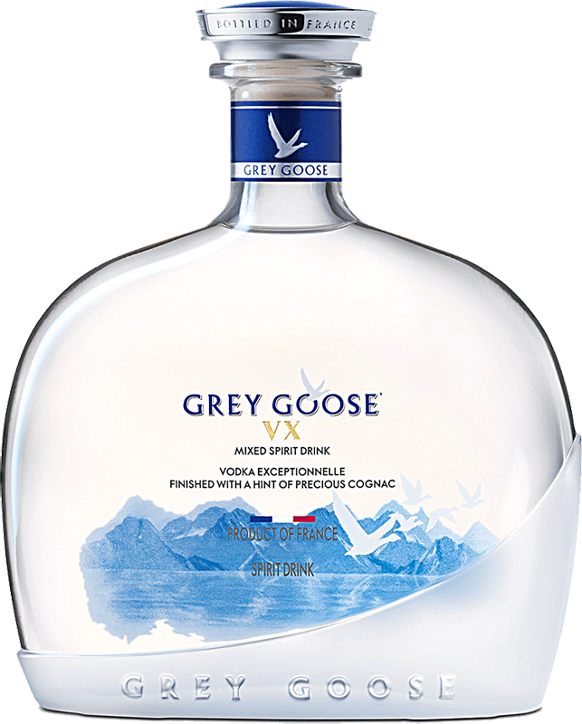 Personalised Grey Goose VX 1 Litre engraved bottle