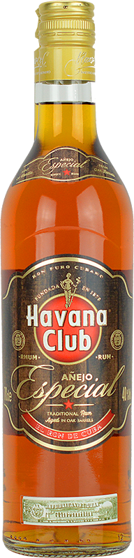 Personalised Havana Club Anejo Especial Rum 70cl engraved bottle