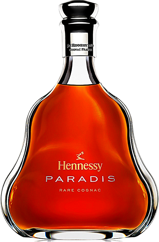 Personalised Hennessy Paradis Cognac 70cl engraved bottle