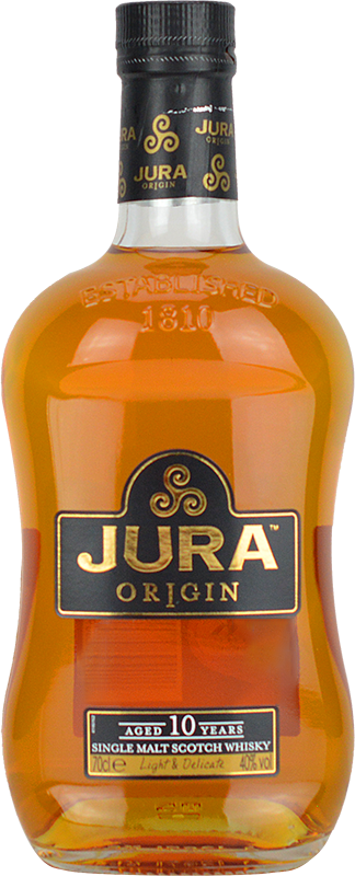 Personalised Isle of Jura 10 Year Old Whisky 70cl engraved bottle