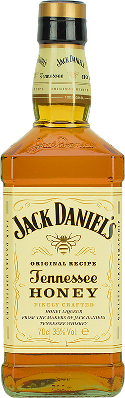 Personalised Jack Daniels Honey 70cl engraved bottle