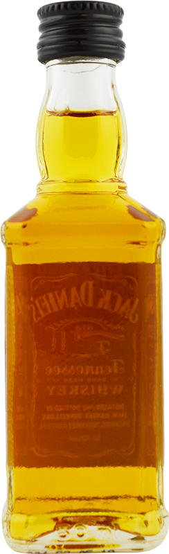 Personalised Miniature Jack Daniels No7 5cl engraved bottle