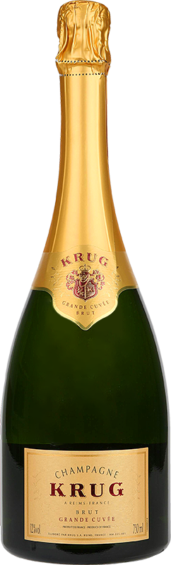 Personalised Krug Grand Cuvee Champagne 75cl engraved bottle