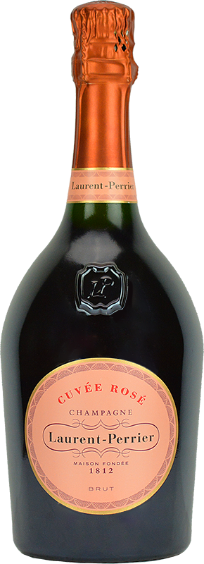 Personalised Laurent Perrier Rose Champagne 75cl engraved bottle