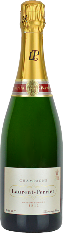 Personalised Laurent Perrier Brut Champagne 75cl engraved bottle