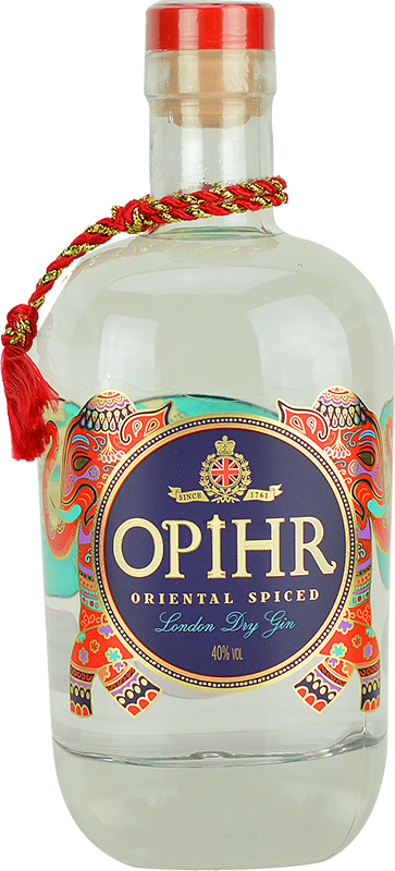 Personalised Opihr Oriental Spiced Gin 70cl engraved bottle