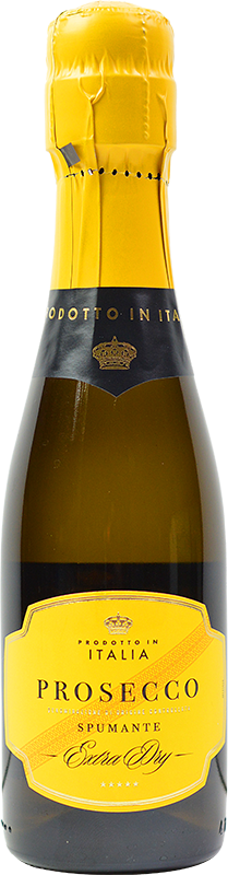 Personalised Italia Spumante Extra Dry Prosecco Single Serve 20cl engraved bottle